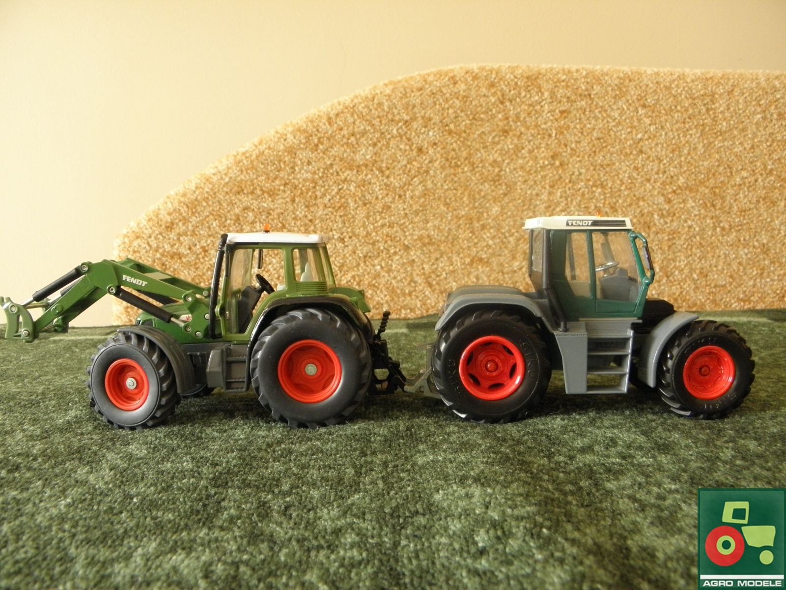 Fendt Vario 714 (140 PS) & Xylon 524 (140 PS)