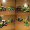Claas Axion 850 & Amazone EDX 6000 TC