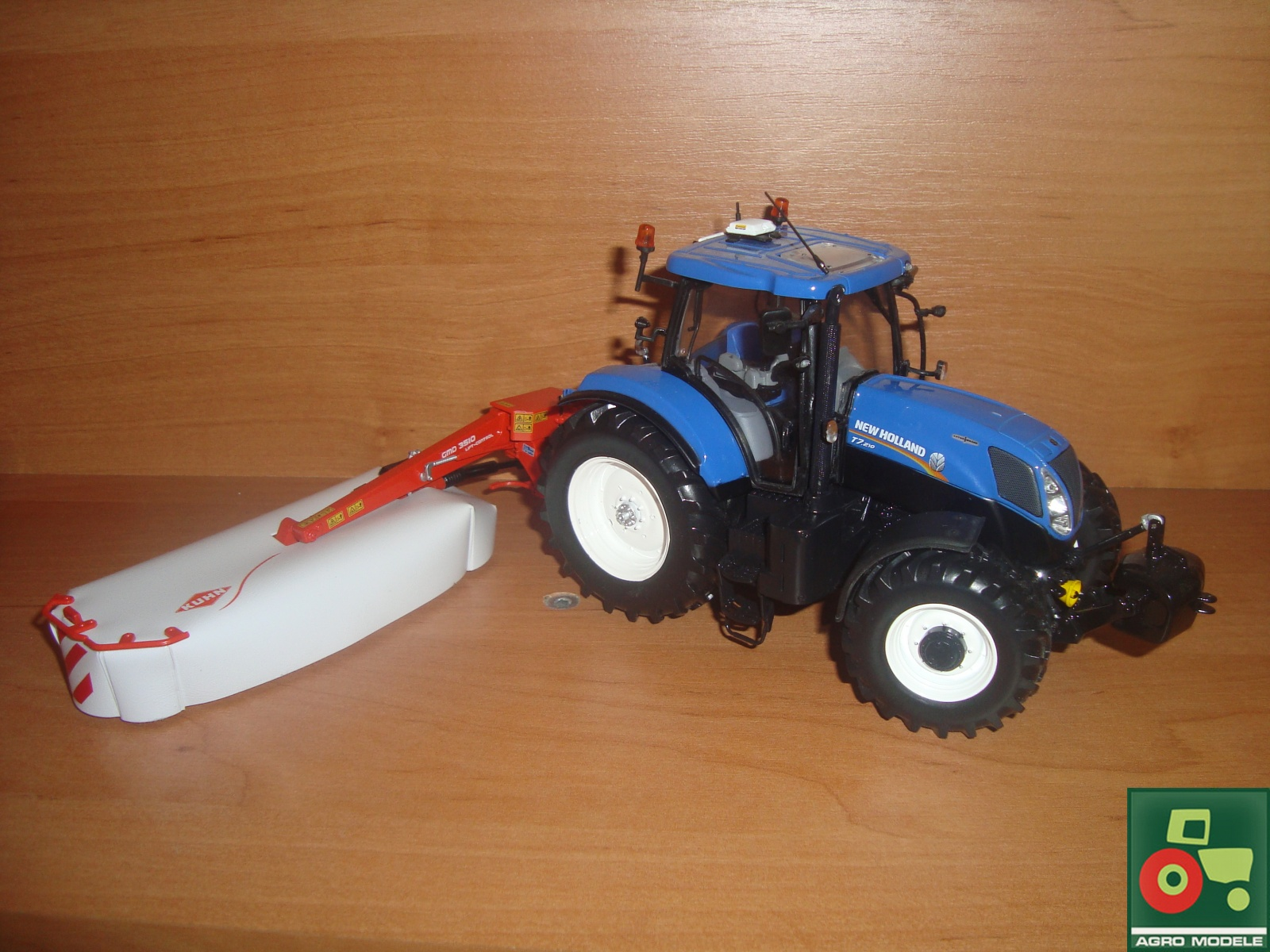 New Holland T7.210 + Kuhn GMD 3510