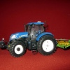 New Holland T7 210 & Joskin