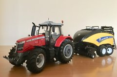 Massey Ferguson 7726 S + New Holland 1290 CROPCUTTER.JPG