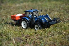 NewHolland T6.140 & RAUCH AXIS 30.1